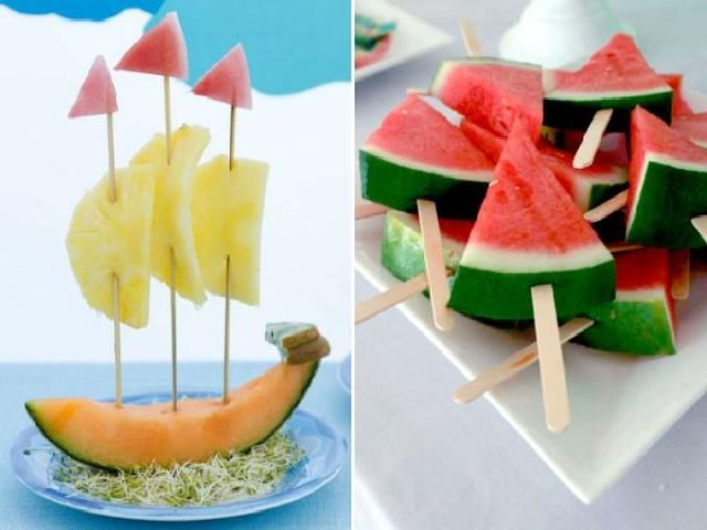 Festas De Criança Com Frutas 3