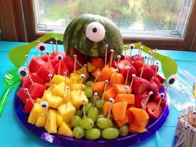 Festas De Criança Com Frutas 4