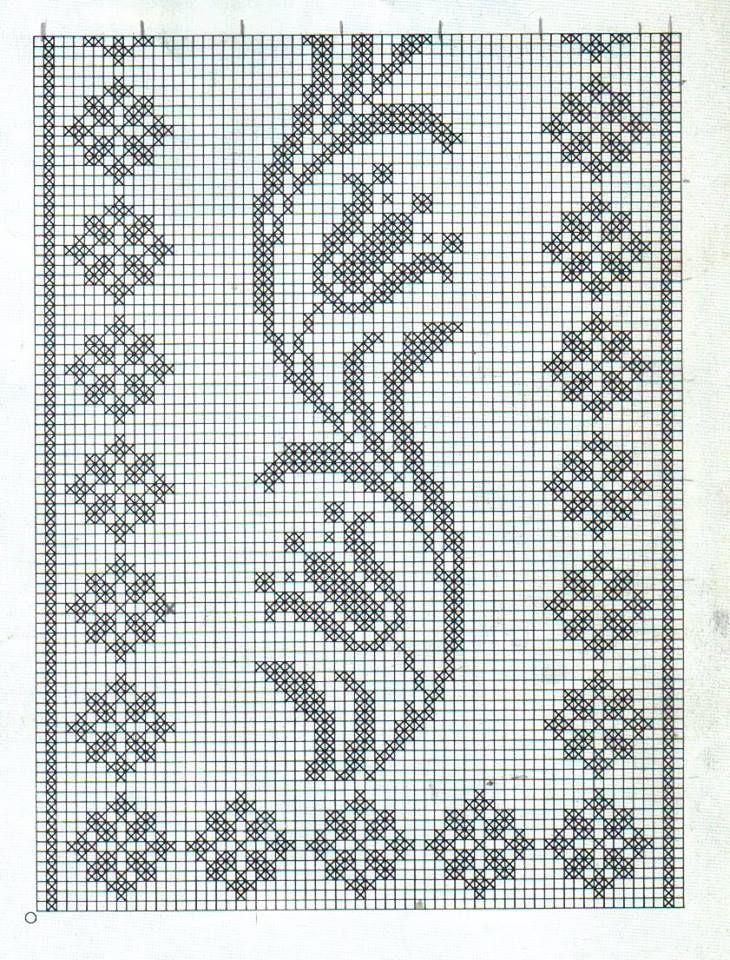 Gráfico De Crochê 11
