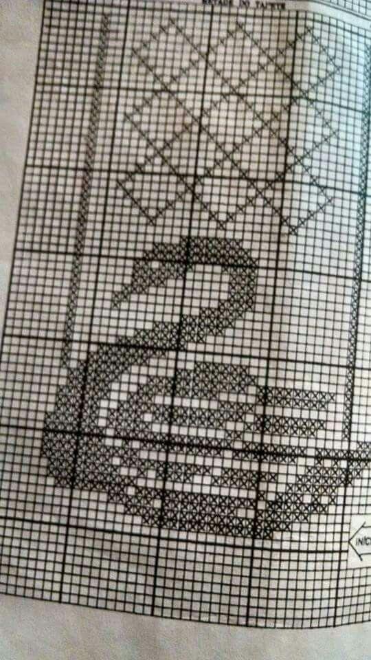 Gráfico De Crochê 14