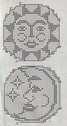 Gráfico De Crochê 18