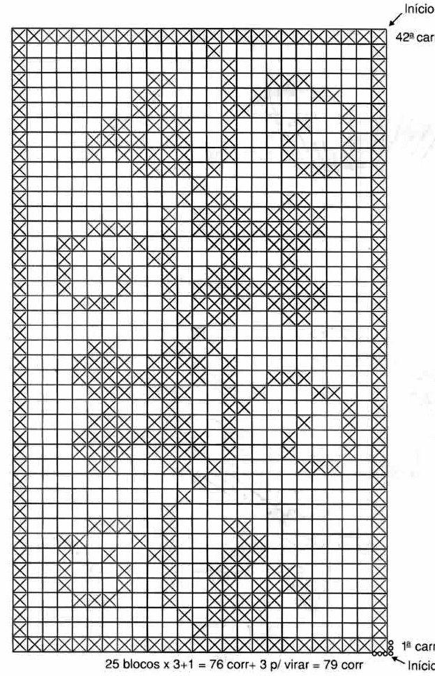 Gráfico De Crochê 20