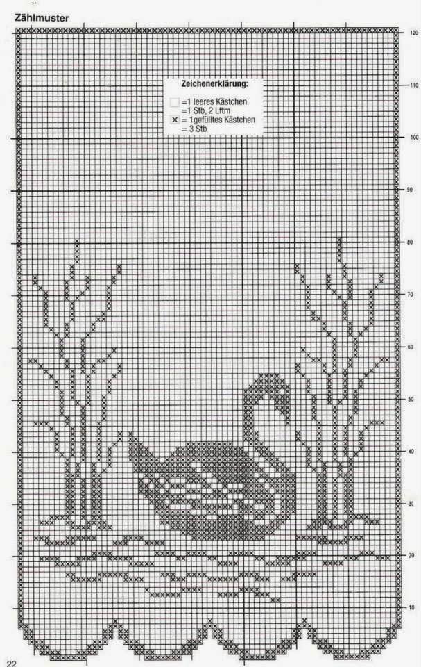 Gráfico De Crochê 5