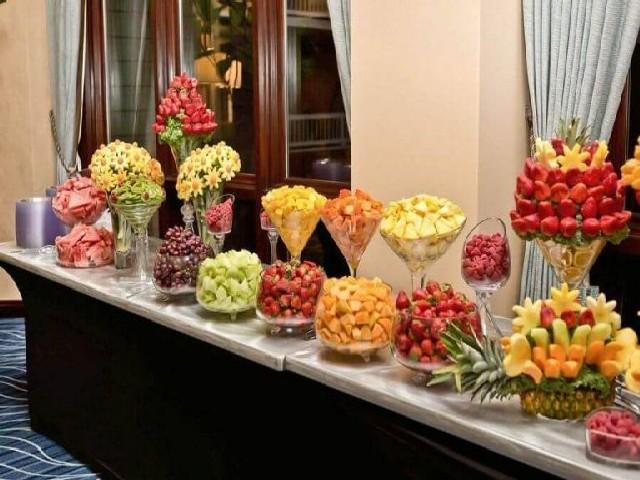 Ideias De Decoração Com Frutas Para Festas FOTOS 2