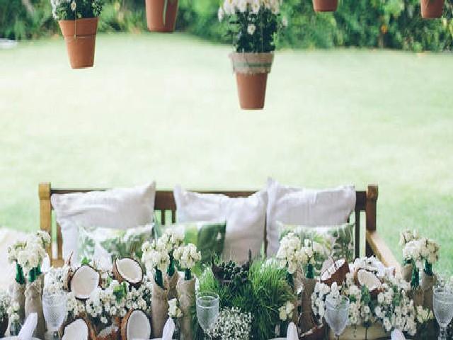 Ideias De Decorações Para Festas De Casamento 5