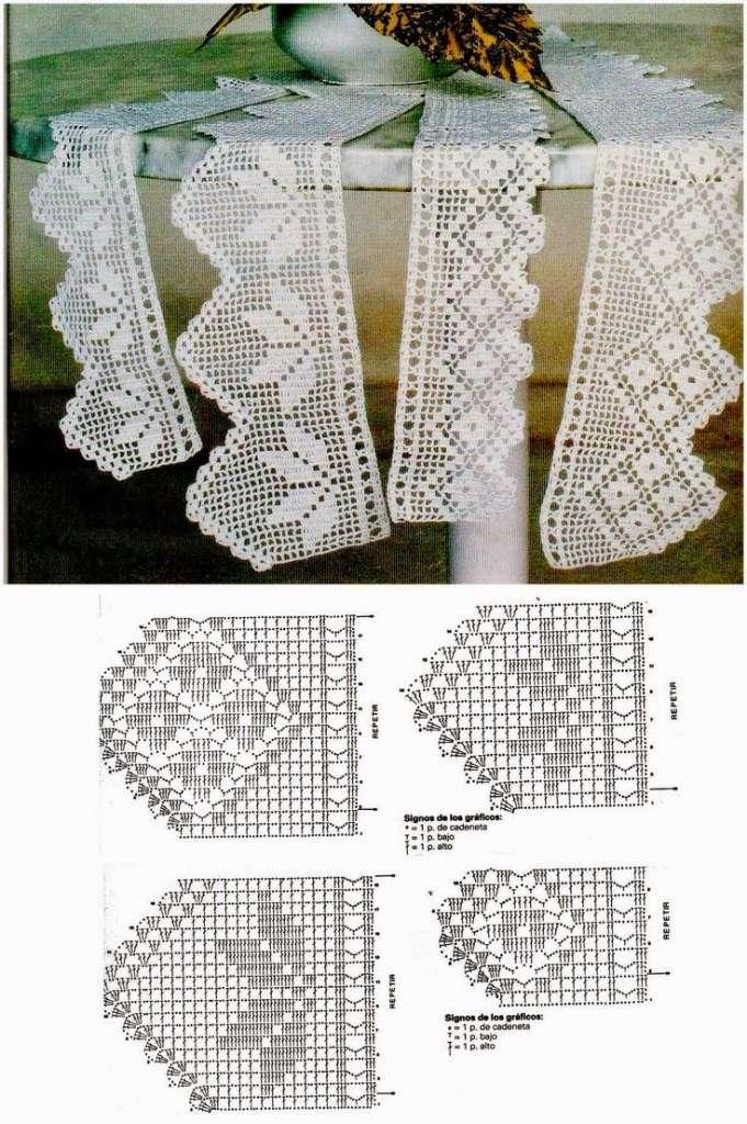 Jogo De Cozinha De Crochê Passo A Passo Com Gráficos 27