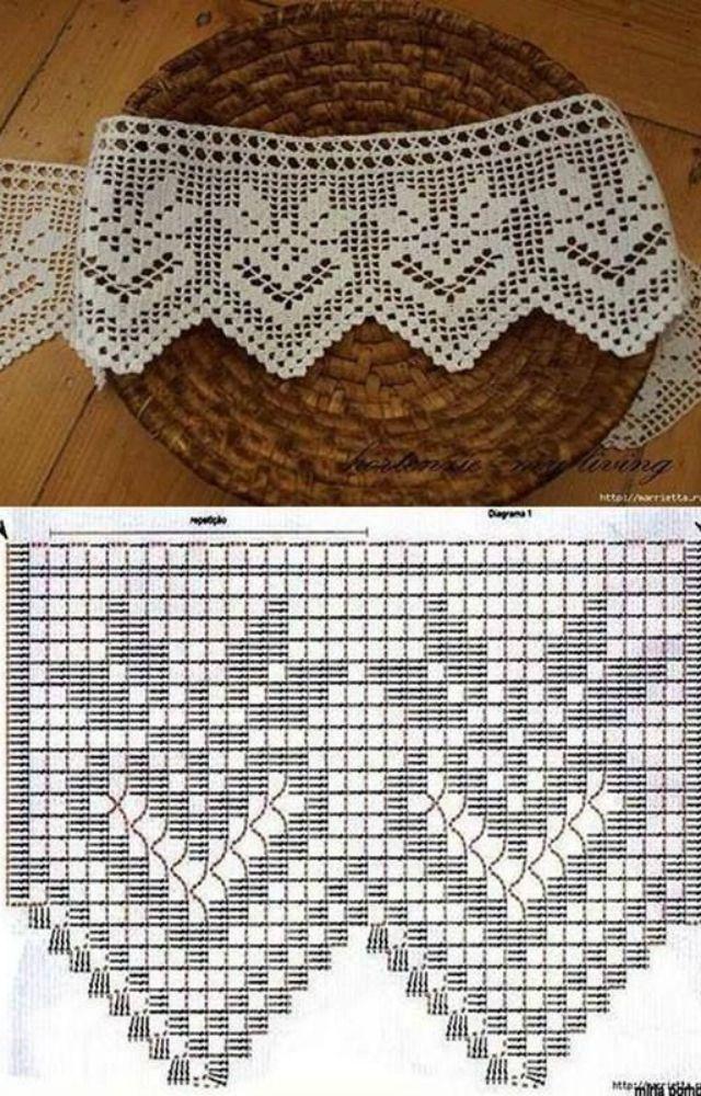 Jogo De Cozinha De Crochê Passo A Passo Com Gráficos 31