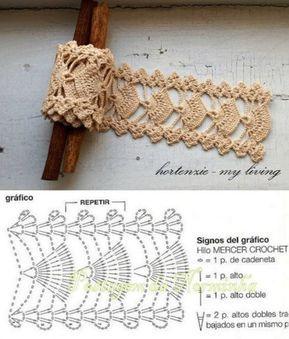 Jogo De Cozinha De Crochê Passo A Passo Com Gráficos 32