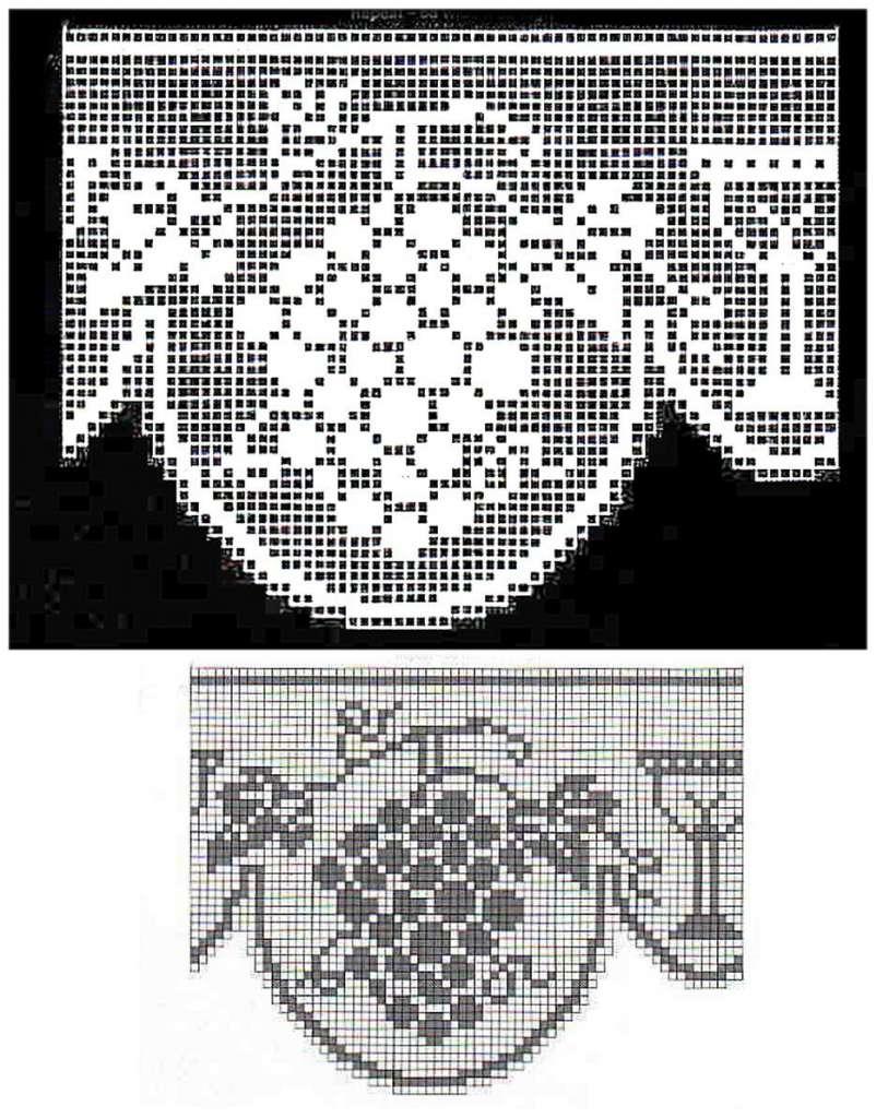 Jogo De Cozinha De Crochê Passo A Passo Com Gráficos 49