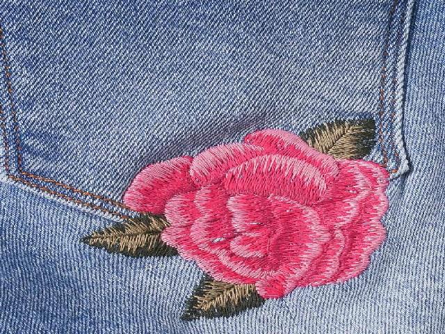 Bordar Flores Em Calça Jeans 11