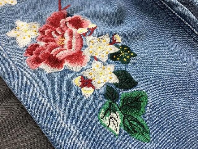 Bordar Flores Em Calça Jeans 12