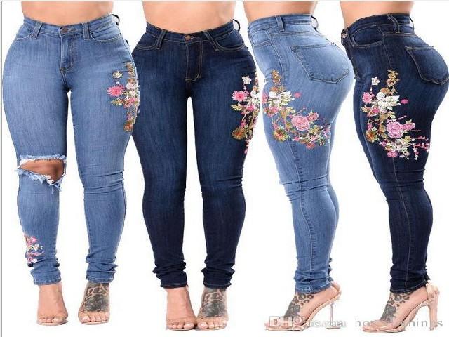 Bordar Flores Em Calça Jeans 6