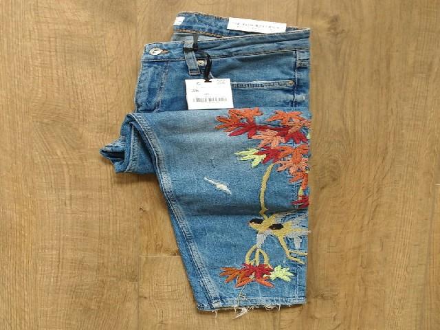 Bordar Flores Em Calça Jeans 7