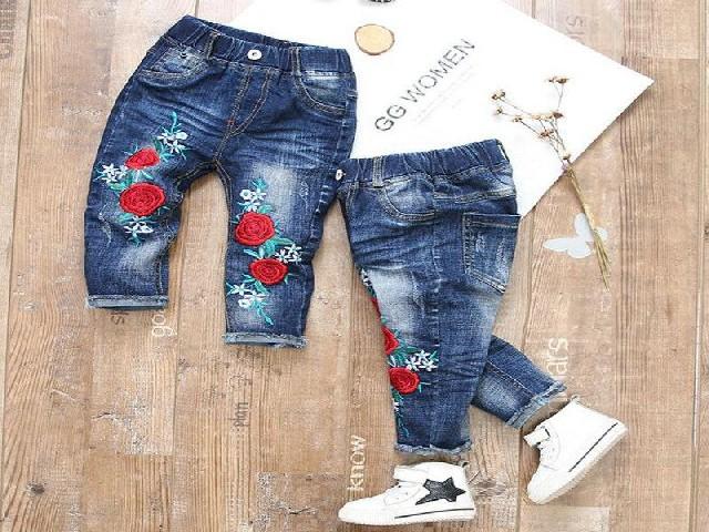 Bordar Flores Em Calça Jeans 8