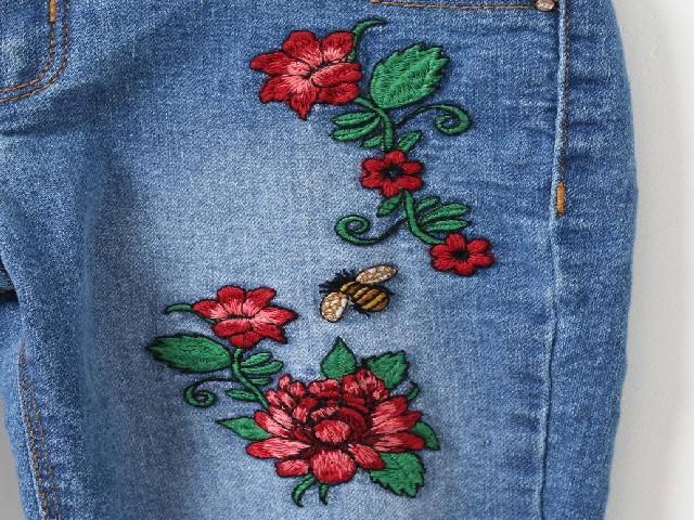 Bordar Flores Em Calça Jeans 9