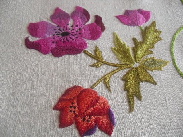 Bordar Flores Em Ponto Cheio 11
