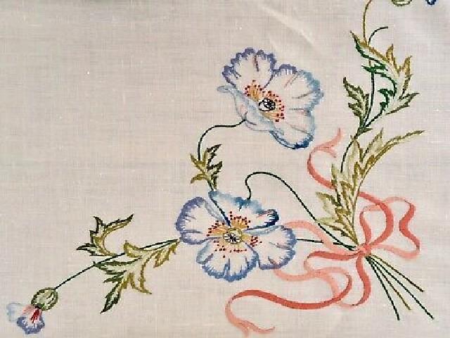 Bordar Flores Em Ponto Cheio 4