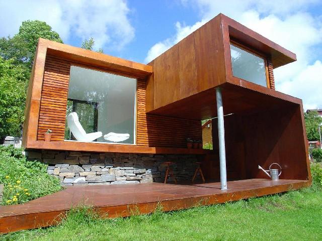 Casas De Madeira Modernas 1