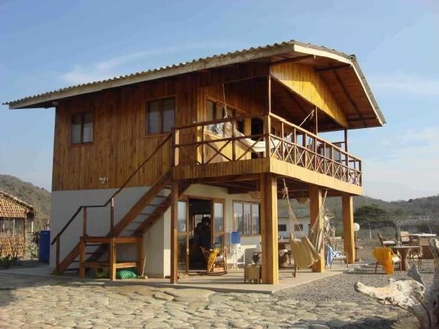 Modelos De Casa De Madeira De Praia 4
