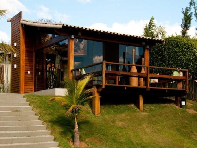 Modelos De Casa De Madeira De Praia 6