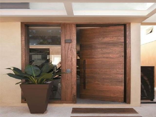 Porta De Entrada De Madeira Grande2