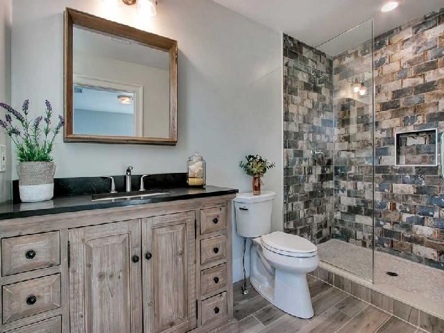 Banheiro Moderno E Rústico1