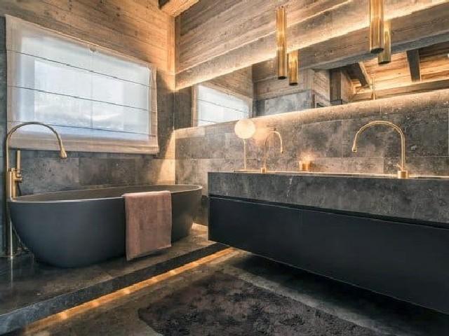 Banheiro Moderno E Rústico3