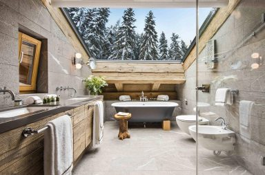 Banheiros Rústicos
