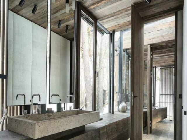 Banheiros Rústicos Com Detalhes Modernos3