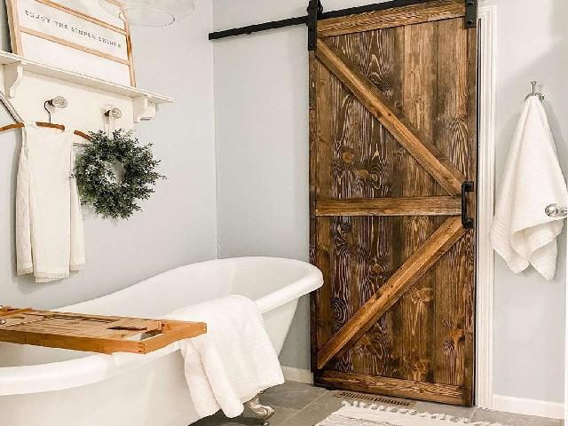 Banheiros Rústicos Usando Elementos Naturais2