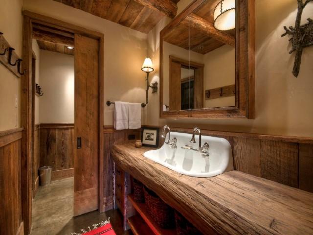 Banheiros Rústicos Usando Elementos Naturais3