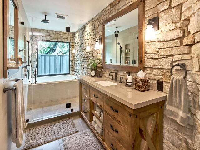 Banheiros Rústicos Usando Elementos Naturais4
