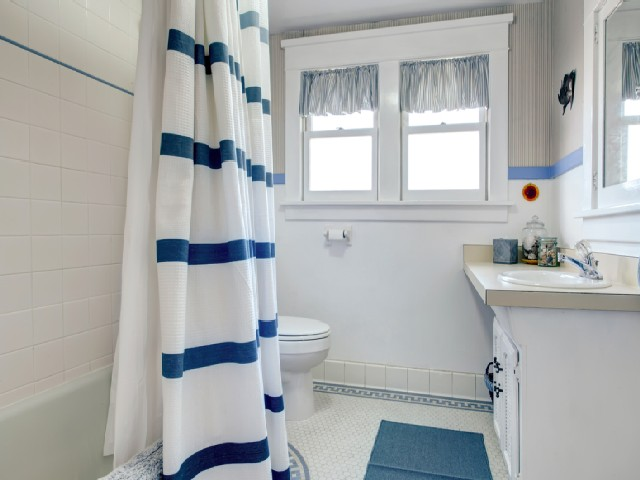 Cortina De Tecido No Banheiro1