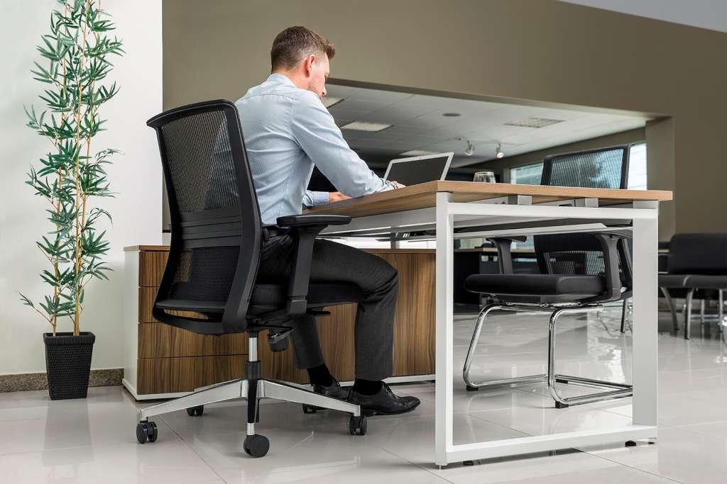 É possível alterar as configurações da sua mesa!
