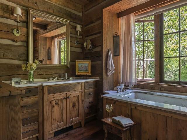 Fotos De Banheiros Rústicos13