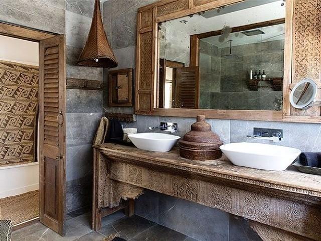 Fotos De Banheiros Rústicos2