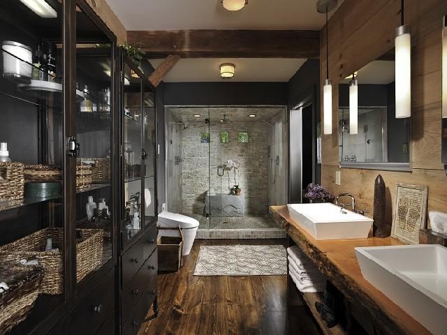 Fotos De Banheiros Rústicos4