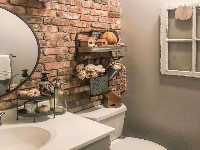 Fotos De Banheiros Rústicos5