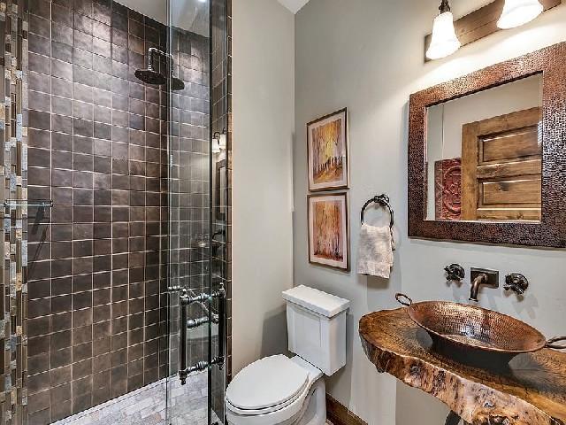 Fotos De Banheiros Rústicos8