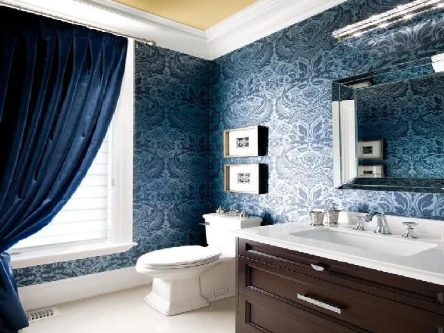 Qual Melhor Papel De Parede Para Banheiro4