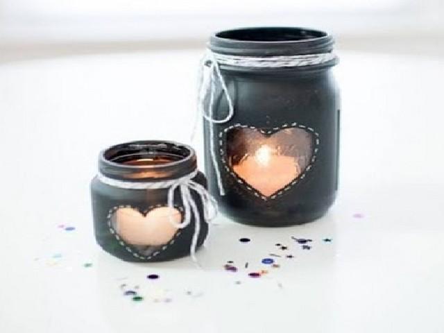 Como Decorar Potes De Vidro Com Tinta3