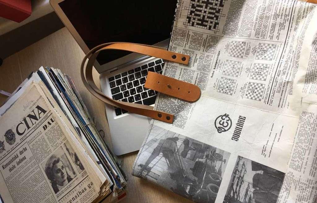Fotos De Artesanato Com Jornal9
