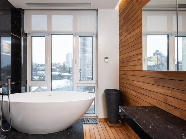 banheiros decorados estilo rustico