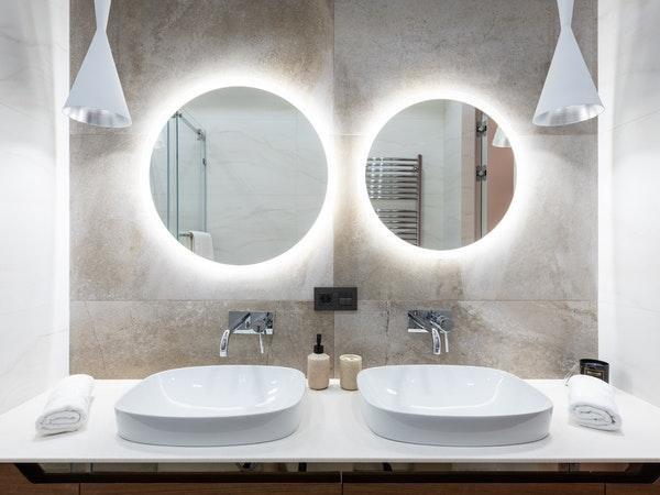 banheiro decorado moderno