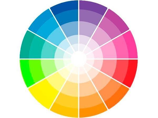 cores de tintas paleta