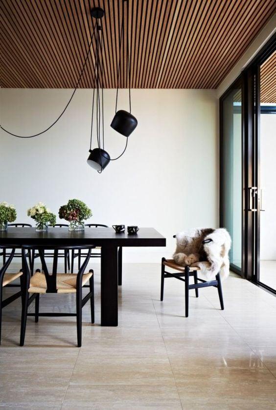 tetos de madeira
