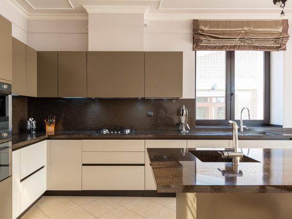 cozinha de conceito amplo