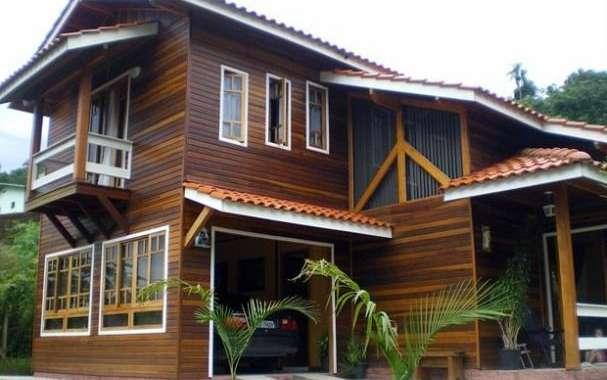 Casa de madeira: Vantagens e desvantagens.