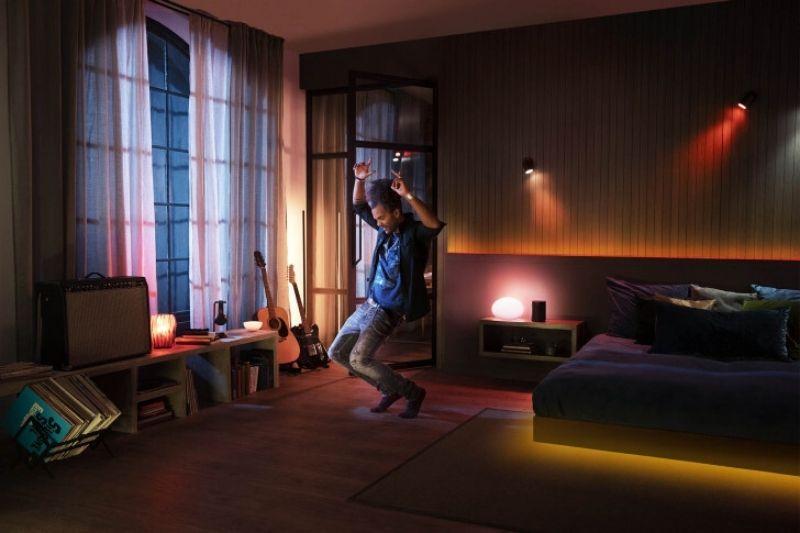 luzes de entretenimento philips hue